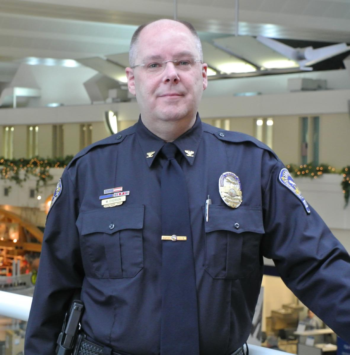 Mike Everson Named Police Chief At Msp My Msp Connect