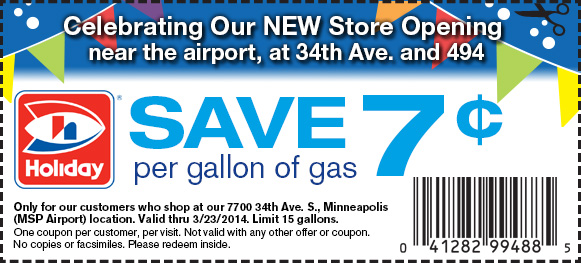 Twin cities gas coupons