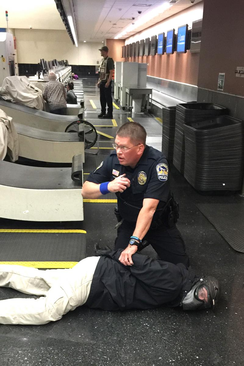 Drill Helps Apd Prepare For Armed Assailant Incidents My